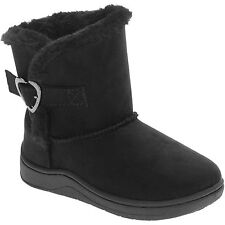 NEW Girl Toddler 5 or 6 GARANIMALS 12-18-24 months Black Shearling Boots Shoes