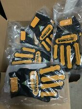 Ironclad Kw-con-03-M Impact Work Grip Gloves Yellow ~ New Size Medium Brand New