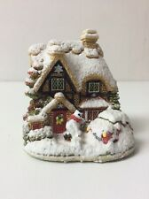 Liliput Lane Snowed In Snow Place Like Home L2635 Mini House Cottage