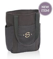 Thirty one go to Tote utility shoulder bag 31 gift in City Charcoal swiss dot