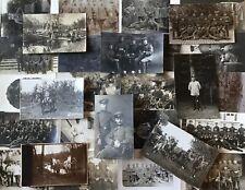 Lot / Konvolut 30 Orig. Militär Fotos Soldaten Uniform Feldpost 1. Weltkrieg