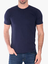 New Men's Royal Brand Navy Blue Crew Neck Shirt Size 4X-Large Brand New!