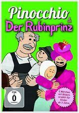 DVD Pinocchio et la Rubinprinz Livre d'images dvd pour Enfants à partir de 3 Ans