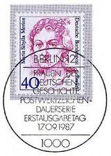 Berlín 1987: Maria Sibylla Merian nr 788 con sólo limpia etiquetas-sello especial! 1a