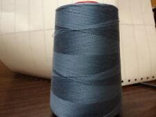 100% COTTON THREAD-U S MADE-6000-YD-MED BLUE-1-CONE