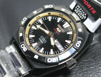 Seiko 5 Sports Automatic Mens Watch SRP287K1 Warranty, Box, RRP:£240