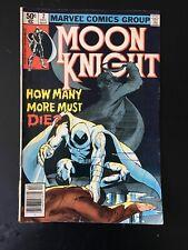 MOON KNIGHT 2  ( VOL 1 1980 )  SIENKIEIWICZ ART  MARVEL COMICS