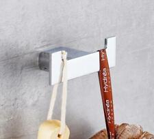 Brass Wall Hook Hanger Bathroom Accessories Bath Hand Towel Chrome Brass Holder