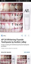Nu Skin AP-24 Whitening Fluoride Toothpaste (No peroxide) - New Stock!