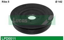 LUCAS Polea del Cigüeñal Para PEUGEOT BOXER LPD0011 - Piezas Coche