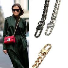 Frauen Gold Silber Metall Kette Tasche Gurtband Ersatz für Griff Schulter Trendy