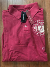 Express Polo Shirt S/S L Brick Red $69.50