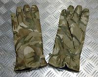 Genuine British Military MTP Camo Leather Combat Gloves MK2 MVP  All Sizes - NEW