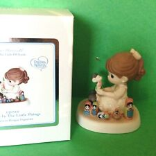 Rare Precious Moments Girl Mouse Nesting Dolls Take Joy In The Little Things Nib