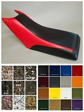 Yamaha Moto4 80 Seat Cover YFM80 1992-01 in 2-tone BLACK & RED or 25 colors (6pc