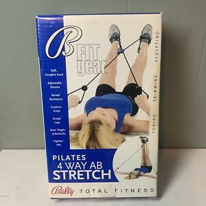 NEW IN BOX Sealed Bally Total Fitness Pilates 4 Way Ab Stretch B9