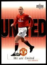 Upper Deck Manchester United 2001-02 (We Are united) - Wes Brown U3