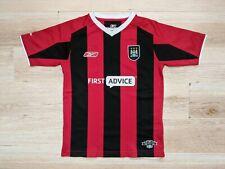 "Reebok 30-32"" Manchester City Football Shirt Youth 2003-04 Away Kit Retro"