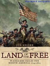 Land Of The Free, Rules For 28mm Games In The American Revolution, Osprey