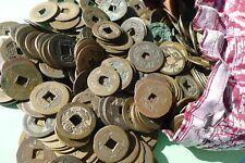 Chinese coin, China Münze, Amulett coin,ca.300 Jahre alt, Echt!1 Stück 3 Fr-