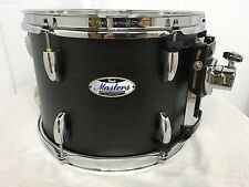 """Pearl Masters Complete MCT 13"""" Mounted Tom/#124/Matte Black Mist/New"""