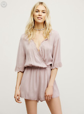 Women's Pink Zelma Romper Free People XS MSRP: $88. Sold out