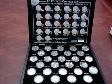 MONNAIE DE PARIS - Coffret 2010 - 26 pièces des régions de France + Mayotte NEUF