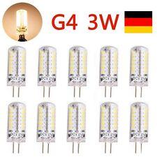 10X G4 DC 12V 3W LED Stiftsockel Leuchtmittel Lampe Glühbirne Birne Warmweiss