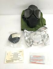 Us Military Issue M40 Gas/Protective Mask w/ Second Skin, Filter, Voice & Bag S