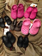 New choice Crocs Shoes Sandals Child Size 4-5  8 9 10 11 12 13 youth 1 girl boy