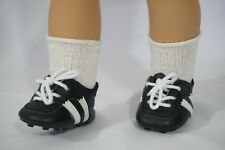 """F.A.O Soccer cleats shoes fit 18"""" american girl dolls and gotz skinny 18"""" dolls"""
