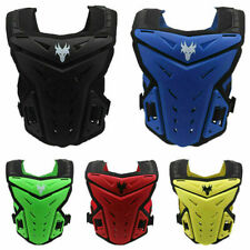 Motorcycle Chest Guard Protector Body Armor Adjustbale For Motocross ATV Racing