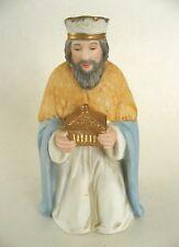 Vintage Homco Porcelain Christmas Nativity Kneeling Wiseman