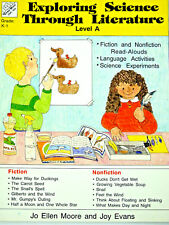 Exploring Science Through Literature Home or School K-1 (Evan-Moor #EMC 820)