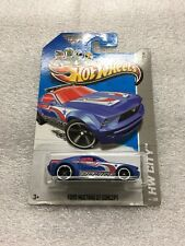 TREASURE HUNT 2013 Hot Wheels Ford Mustang GT Concept HW City new on card B26