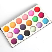18 piezas mix colores Polvo Acrílico Decoración Set para Postizas UÑAS MANICURA