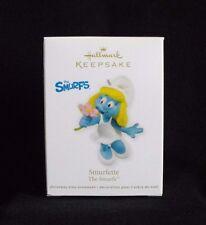 Smurf Smurfette Hallmark Ornament ~ 2011 ~ Mint in Box ~ Peyo