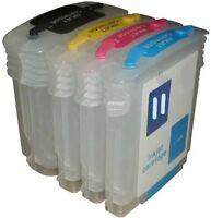 Hp 10 11 Refillable Cartridges / Business Inkjet 1100 2230 2250 2280 2300 2600