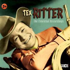 TEX RITTER  * 40 Greatest Hits * NEW 2-CD Box Set * All Original Songs * NEW