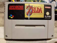 JUEGO SUPER NINTENDO SNES LEGEND OF ZELDA LINK TO THE PAST RAREZA!