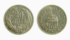 pci3858) HUNGARY UNGHERIA 20 Filler 1908 KB
