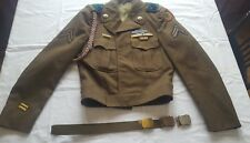 Military 24th Infantry Division- Vintage US Army Uniform 36L Ike Coat/Jacket