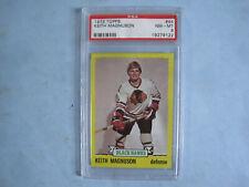 1973/74 TOPPS NHL HOCKEY CARD #44 KEITH MAGNUSON PSA 8 NM/MT SHARP!! 73/74 TOPPS