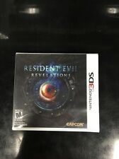 Resident Evil: Revelations (Nintendo 3DS) Rare 1st Print Edition Misprint
