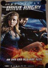 Drive Angry original adv movie release single sided poster
