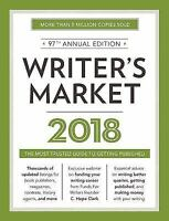 Writer's Market 2018: The Most Trusted Guide to Getting Published-ExLibrary