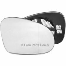 Driver side clip on heated wing door mirror glass for VW Passat B6 2005-2010
