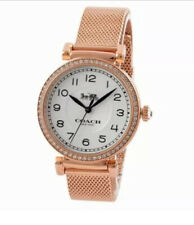 Coach Women's Watch Rose Gold Madison Lady's Watch MSRP $295