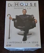 House Season 1-8 Dvd Box set New Sealed French Import English Audio PAL Region 2