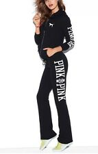 NWT VICTORIA'S SECRET PINK University Flare Sweat Pants NWT Small S